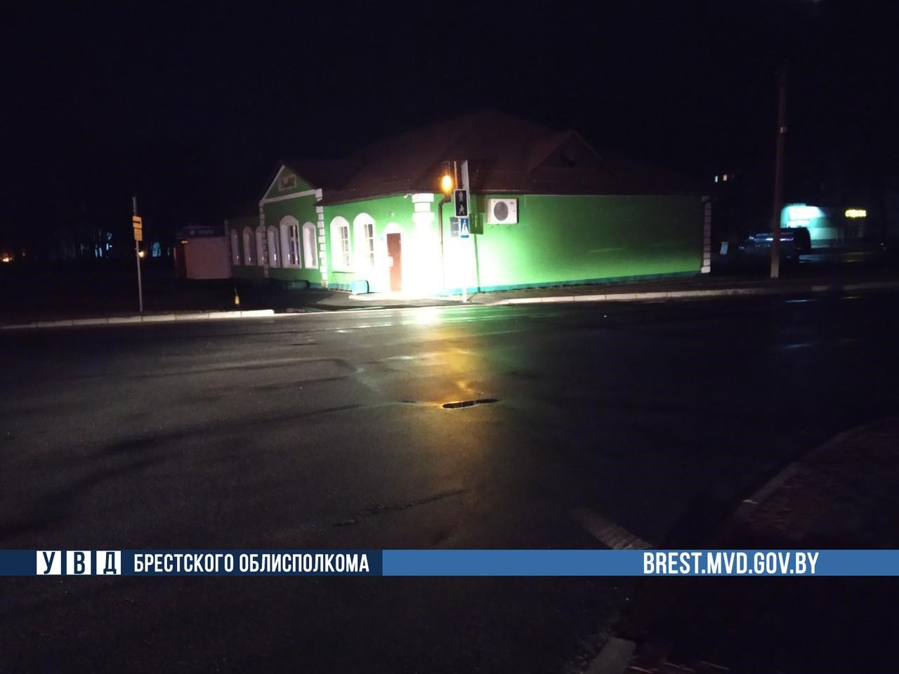 В Березе инспекторы ГАИ установили водителя, который сбил пешехода и оставил место ДТП