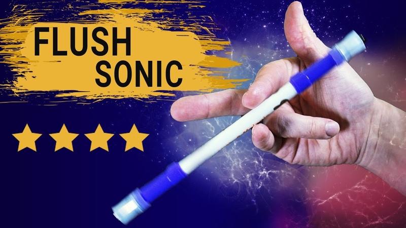 Flush Sonic как делать ТРЮК С РУЧКОЙ Пенспиннинг
