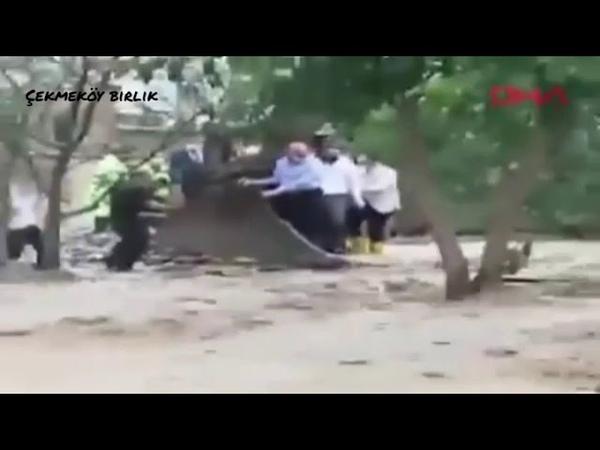 Video'da kepçenin kovasına binen kişi bu ülkenin İçişleri Bakanı olan Süleyman Soylu