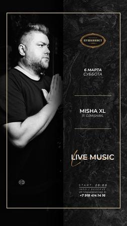 MISHA XL - THE PUSHKINIST 2021 - TOM 01 - LIVE MIX 1