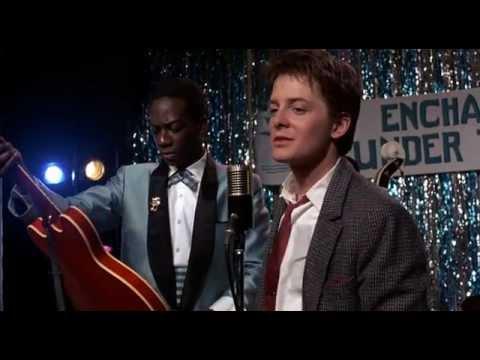 Назад в будущее I Марти Макфлай отжигает на гитаре