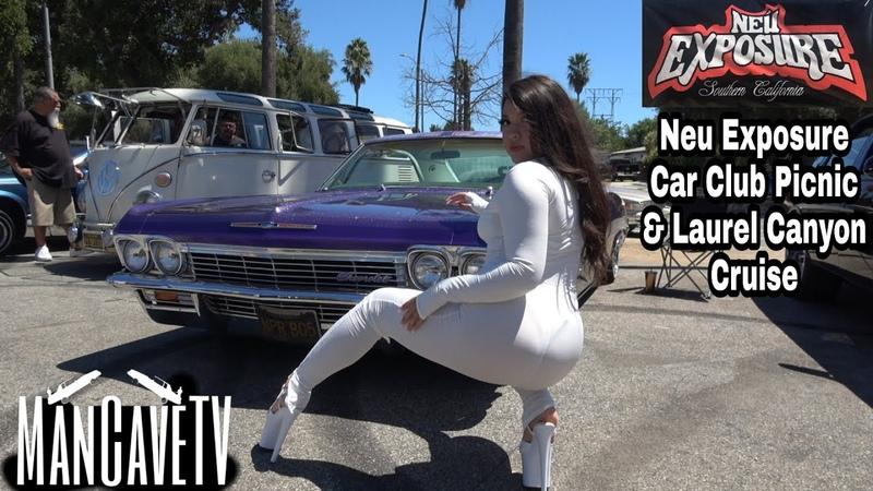 Neu Exposure Car Club Picnic Laurel Canyon Cruise