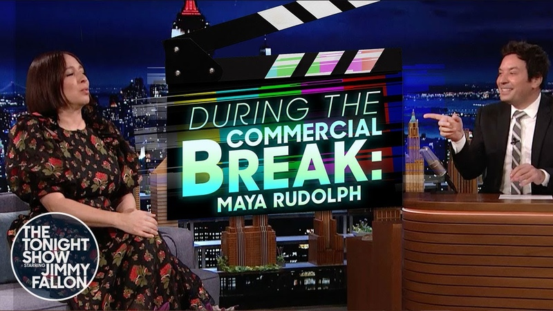 Maya Rudolph and Jimmy Scat with The Roots During Commercial Break The Tonight Show