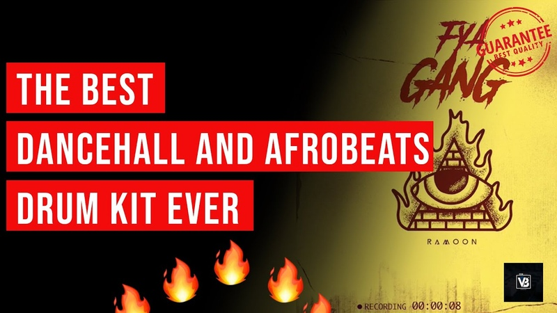 Drum Kit Review Video | Fya Gang Drum Kit By @Ramoon | DanceHall and AfroBeat Drum Kit