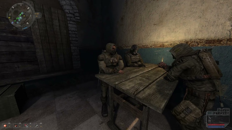 S.T.A.L.K.E.R. Call of Pripyat - Unfinished business in Zaton 21
