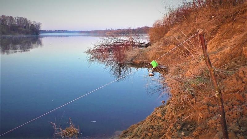 Рыбалка на закидушку.