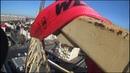 башенный кран в здании , гемморойнейший демонтаж !