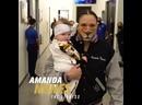 Прибытие Аманды Нунес и Меган Андерсон на арену