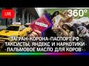 Загран-корона-паспорт РФ / Таксисты, Яндекс и наркотики / Пальмовое масло для коров