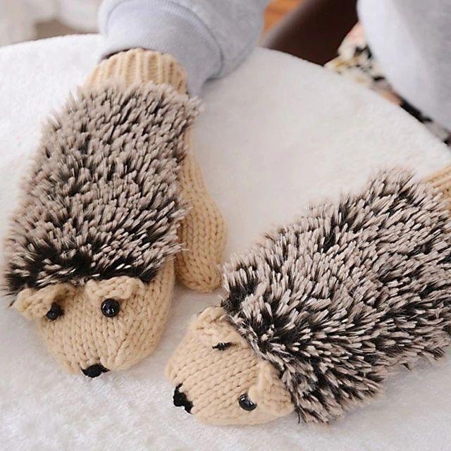 Ежовые рукавички -