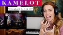 Kamelot Elizabeth I, II III REACTION ANALYSIS by Vocal Coach / Opera Singer