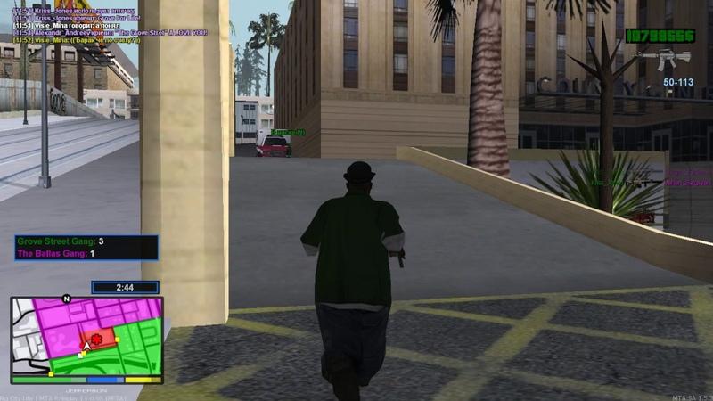 КАПТ Multi Theft Auto | Big City Life | Role Play