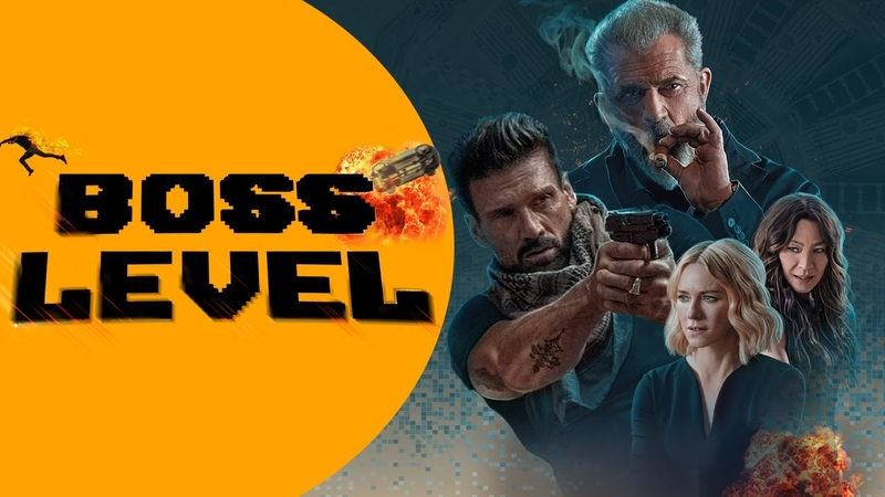 BOSS LEVEL Mel Gibson Frank Grillo Naomi Watts OFFICIAL TRAILER 2020 Action Sci Fi Movie