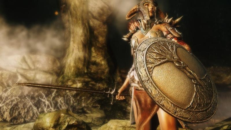 №16 - Titan Quest - Завоеватель (Ратное делоЗащита) Щит, Физический урон - Эпос, Начинаем Рагнарок!