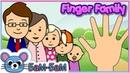 Папа пальчик. Детская песня про Семью пальчиков.