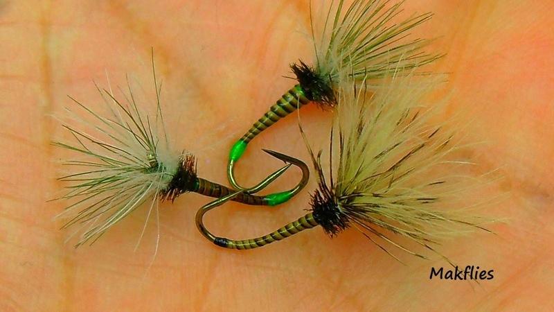 Fly Tying a CDC Quill Tenkara Fly by Mak 🔥🔥