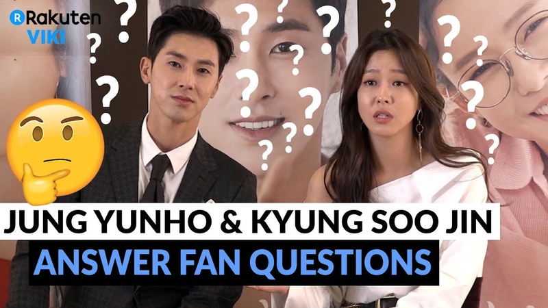 Melo Holic Interview | Jung Yunho Kyung Soo Jin Answer Fan Questions [Eng Sub]