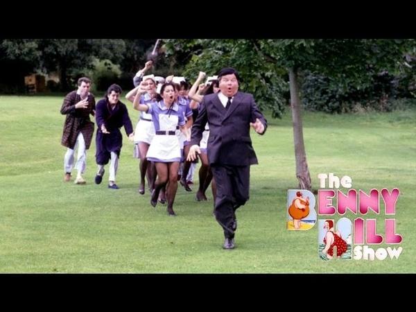 Benny Hill - Hospital Hi-Jinx wClosing Chase (1986)