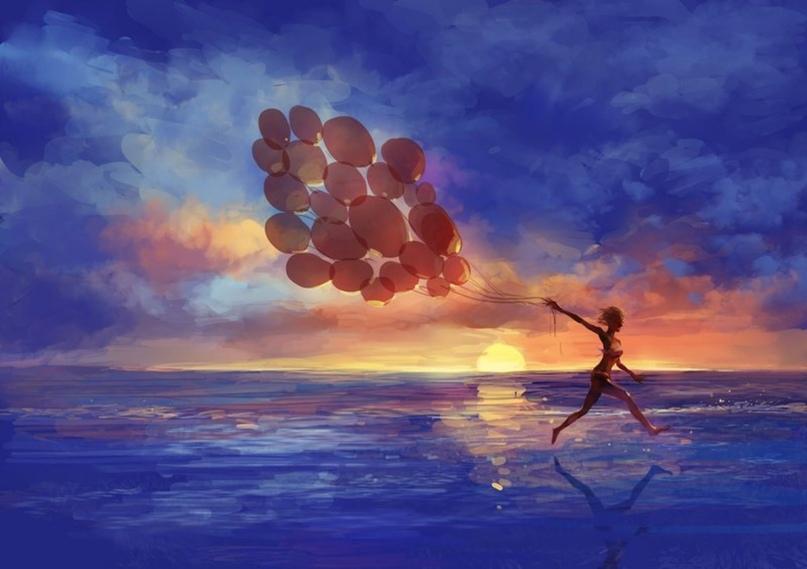 Мы можем долго ждать указаний свыше, а может не дожидаясь делать свою жизнь счастливой. А счастье в самом процессе жизни.