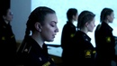 Подготовка девушек-курсантов Военно-морского политехнического института в Санкт-Петербурге