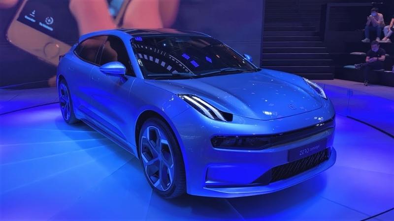 ALL NEW Geely Lynk Co ZERO EV Concept Walkaround 2020 Beijing Motor Show 全新吉利领克ZERO概念车亮相