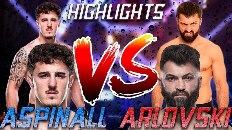 Андрей Арловский Том Аспинал Highlights UFC Fight Night