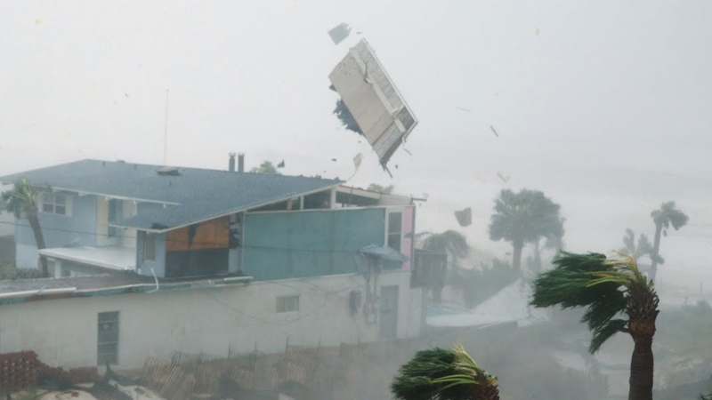 CRAZY WIND STORM More than 1000 houses were destroyed Extreme hurricane in Qatar apr 6 2021
