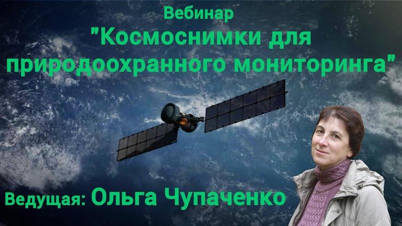 Запись вебинара Космоснимки для природоохранного мониторинга