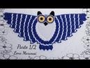 🦉 Parte 1/2 DestroTapete Coruja de crochê lenamarcossi crochê Crochétka coruja