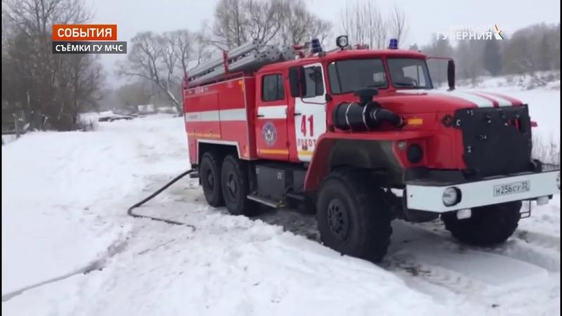 Два человека погибли при пожаре в жилом доме в Брасовском районе Брянской области