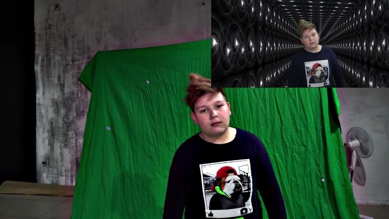 Хромакей видео отслеживание фона по 3м осям трекинг 3dcamera greenscreen