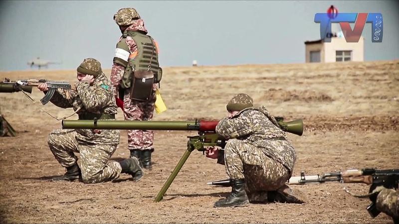 Практические стрельбы из станкового противотанкового гранатомета СПГ-9